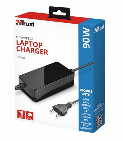 TRUST Primo Laptop Charger 19V-90W