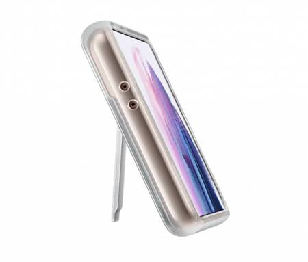 Samsung S21 Clear Standing Cover Transperant