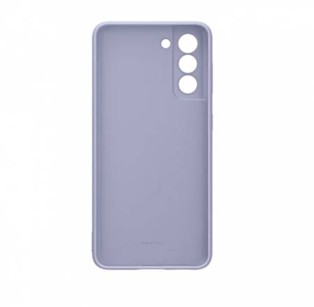 Samsung S21 Silicone Cover Violet
