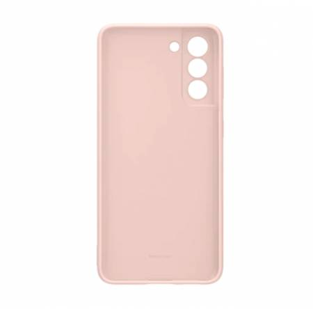 Samsung S21 Silicone Cover Pink