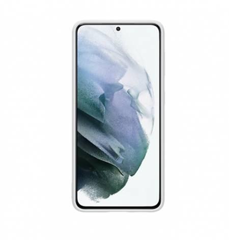 Samsung S21 Silicone Cover Light Gray
