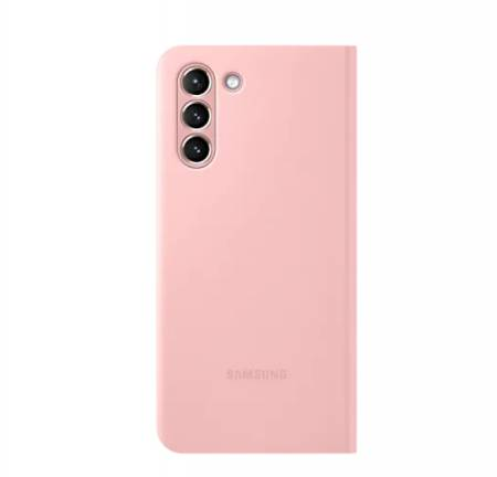 Samsung S21 Smart LED View Cover Pink