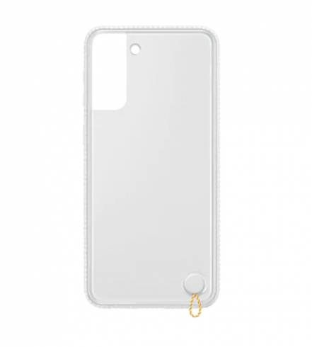 Samsung S21+ Clear Protective Cover White