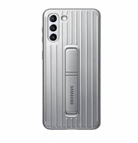Samsung S21+ Protective Standing Cover Light Gray