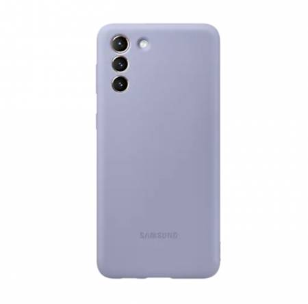 Samsung S21+ Silicone Cover Violet