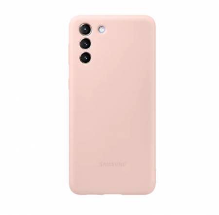 Samsung S21+ Silicone Cover Pink
