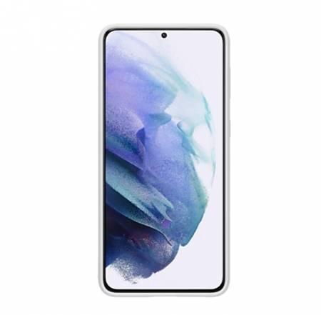 Samsung S21+ Silicone Cover Light Gray