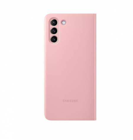 Samsung S21+ Smart Clear View Cover Pink