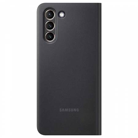 Samsung S21+  Smart Clear View Cover Black