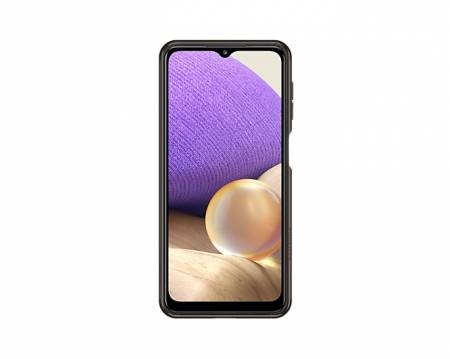 Samsung A32 Soft Clear Cover Black