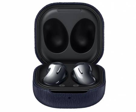 Samsung Buds Live/Pro Leather Cover Navy