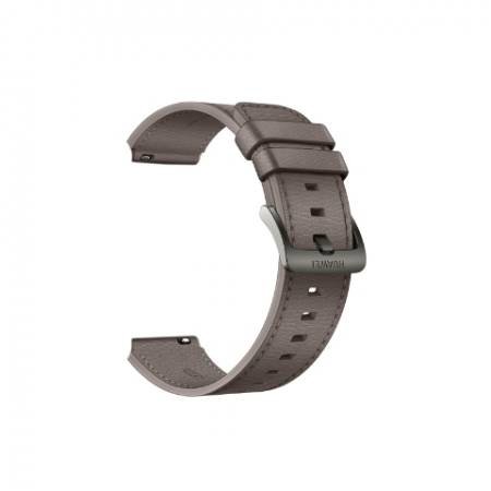 Huawei Gray Brown Leather Strap for Watch GT 2 Pro