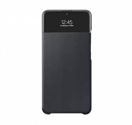 Samsung A32 Smart S View Wallet Cover Black