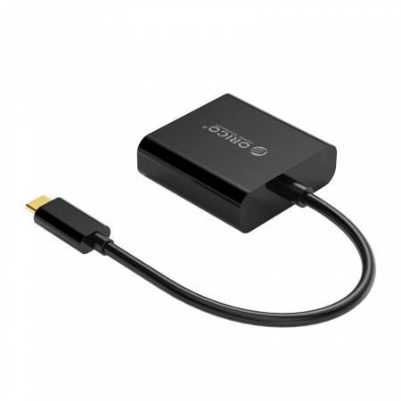 Адаптер USB Type-C към DVI Orico XD-125-BK