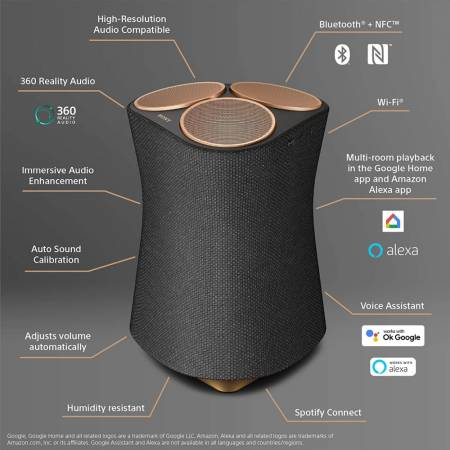Sony SRS-RA5000 Portable Bluetooth  Speaker