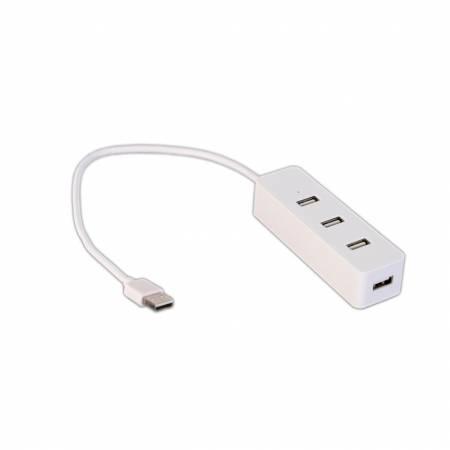 USB хъб Orico W5-U2-WH с 4 USB 2.0 порта