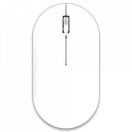 Безжична/Bluetooth мишка Delux M399DB бяла