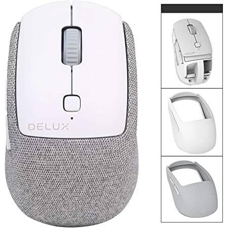 Безжична/Bluetooth 5.0 мишка Delux M520DB