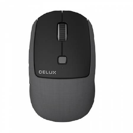 Безжична/Bluetooth мишка Delux M520DB черна