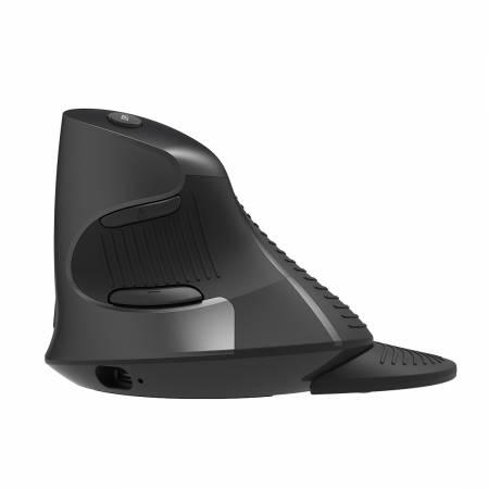 Безжична вертикална мишка Delux M618G GX