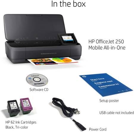 HP OfficeJet 250 Mobile AiO Printer