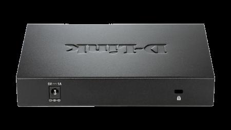 8‑портов гигабитов неуправляем десктоп комутатор D-Link DGS-108GL
