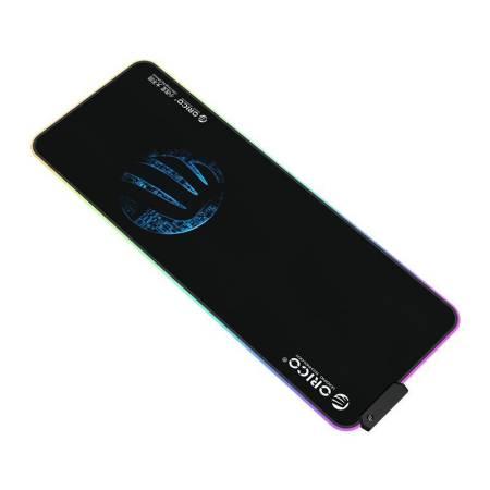 RGB геймърска подложка за мишка Orico FSD-15-BK