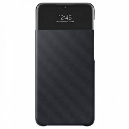 Samsung A52 Smart S View Wallet Cover Black