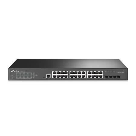 24-портов гигабит L2 управляем комутатор TP-Link JetStream TL-SG3428 V2 с 4-SFP слота
