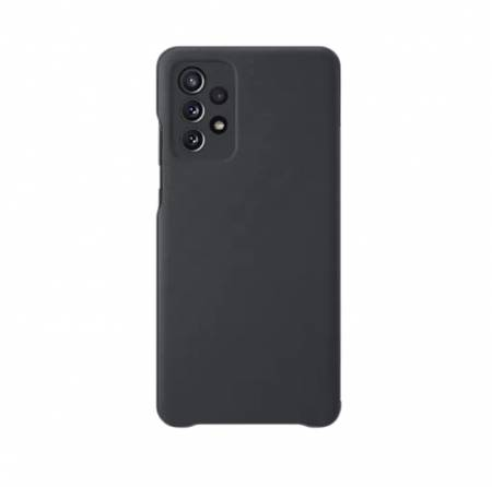 Samsung A72 Smart S View Wallet Cover Black