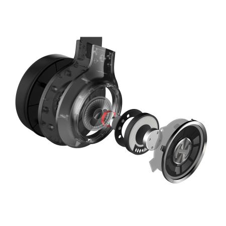 RGB геймърски слушалки с микрофон Edifier G4-TE черни