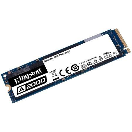 SSD диск KINGSTON A2000 250G SSD M.2 2280 NVMe SA2000M8/250G