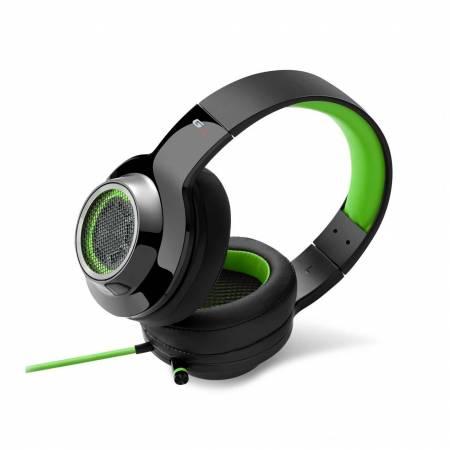 Геймърски слушалки с микрофон Edifier V4-GR зелено-черни