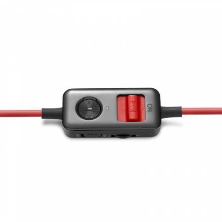 Геймърски слушалки с микрофон Edifier V4-RD червено-черни