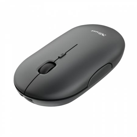 TRUST Puck Wireless & BT Rechargeable Mouse Black