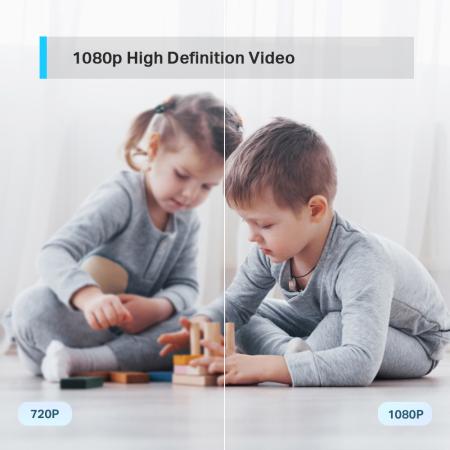Wi-Fi Pan/Tilt камера за наблюдение TP-Link Tapo C210
