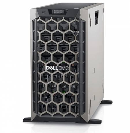 Dell EMC PowerEdge T440/Chassis 8 x 3.5 HotPlug/Xeon Silver 4210/16GB/1x480GB SSD/No Rails/Bezel/No optical drive/Dual-Port 1GbE On-Board LOM/PERC H730P/iDRAC9 Exp/495W/3Y Basic Onsite