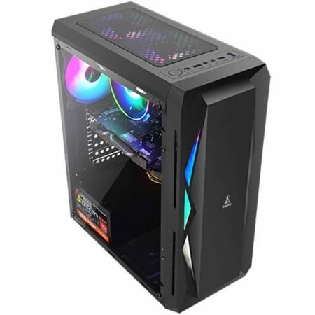 Кутия за настолен компютър Segotep Snake SG-XW с прозрачен страничен панел