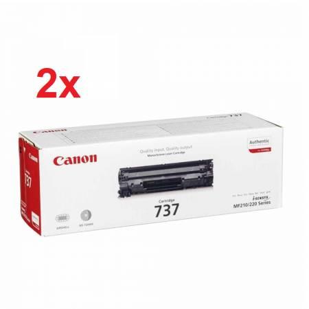 Canon CRG-737 + Canon CRG-737