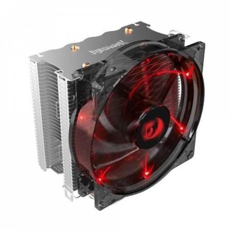 Охладител за Intel/AMD процесори Redragon Reaver CC-1011 червена подсветка