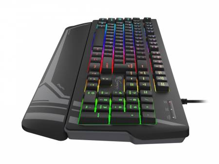 Genesis Gaming Keyboard Rhod 350 RGB Backlight US Lauout