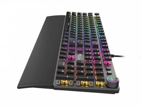 Genesis Mechanical Gaming Keyboard Thor 400 RGB Backlight Red Switch US Layout Software