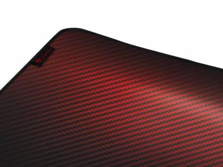 Genesis Mouse Pad Carbon 500 Ultra Blaze 110x45 Red