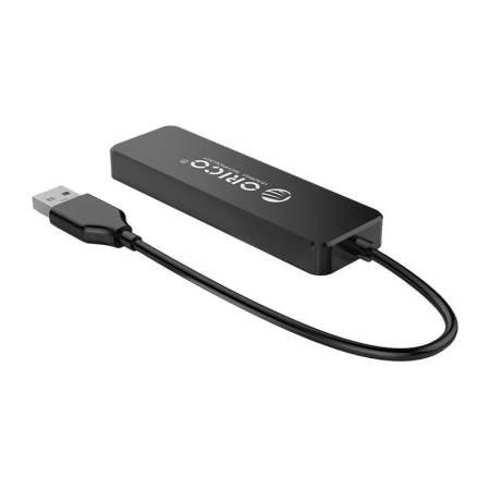 4-портов USB 2.0 хъб Orico FL01-BK