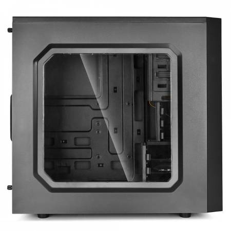 Кутия за настолен компютър DeepCool Tesseract SW DP-ATX-TSRBKRD