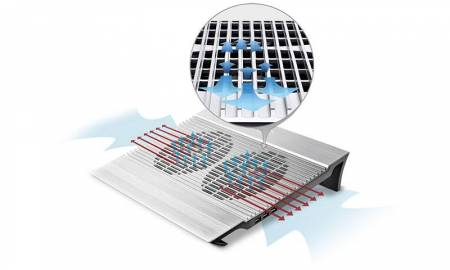 "Охлаждаща подложка DeepCool N8 DP-N8 до 17"""