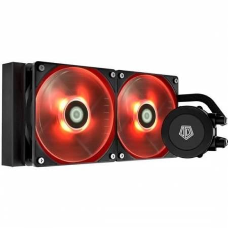 Водно охлаждане ID-Cooling Frostflow 240 Red LED