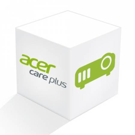 Acer Warranty Extension PROJECTOR COMMERCIAL/CONSUMER- 3Y CARRY IN + 3Y LAMP