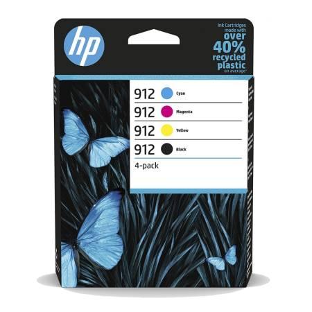 HP 912 CMYK Original Ink Cartridge 4-Pack