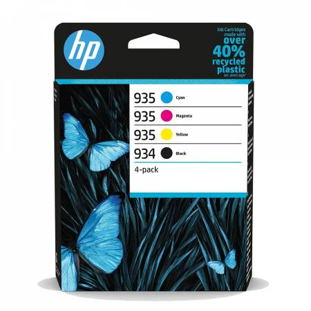 HP 934 Black / 935 CMY Ink Cartridge 4-Pack